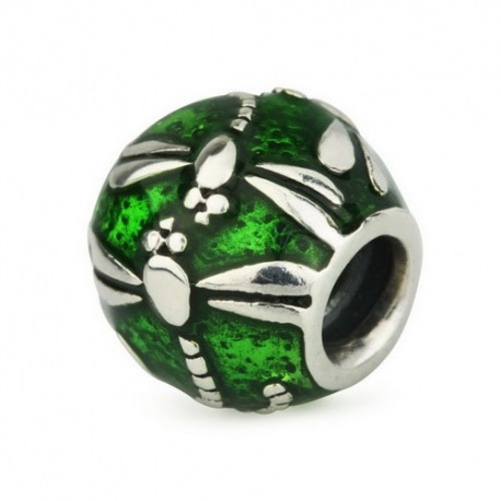 Dragonfly Green Enamel