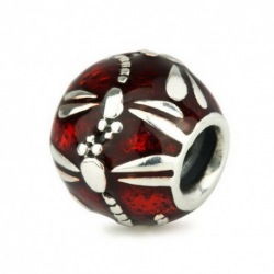Dragonfly Red Enamel