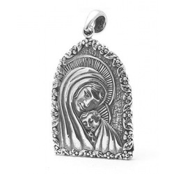 Madonna and Child Pendant