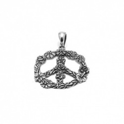 Peace Flower Pendant