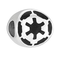 Disney - Star Wars Imperial Logo Disc Charm
