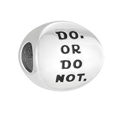 Disney - Star Wars Do or Do Not Disc Charm