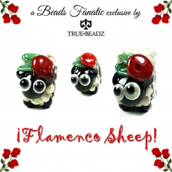 Flamenco Sheep - Beads Fanatic Exclusive