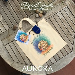 Friends 4 Life + Tote Bag / Beads Fanatic Exclusive LE Bead