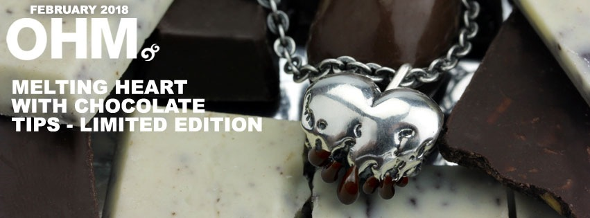 Melting Heart with Chocolate TIps - Limited Edition