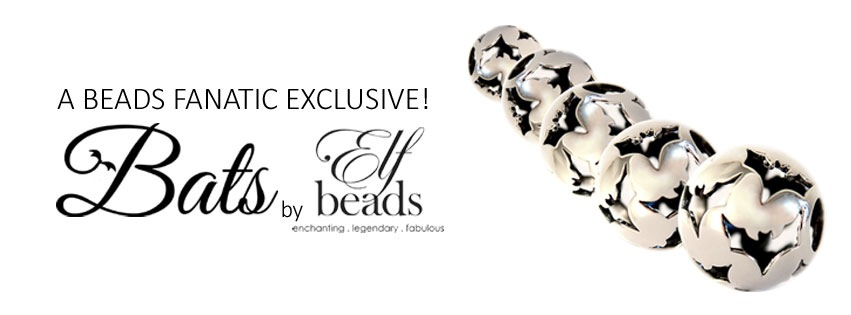 Beads Fanatic exclusive Bats by Elfbeads